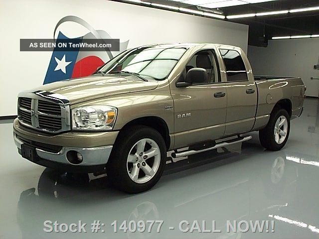 2008 Dodge Ram Lone Star Quad Hemi Side Steps 20 ' S 59k Texas Direct Auto Ram 1500 photo