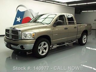 2008 Dodge Ram Lone Star Quad Hemi Side Steps 20 ' S 59k Texas Direct Auto photo