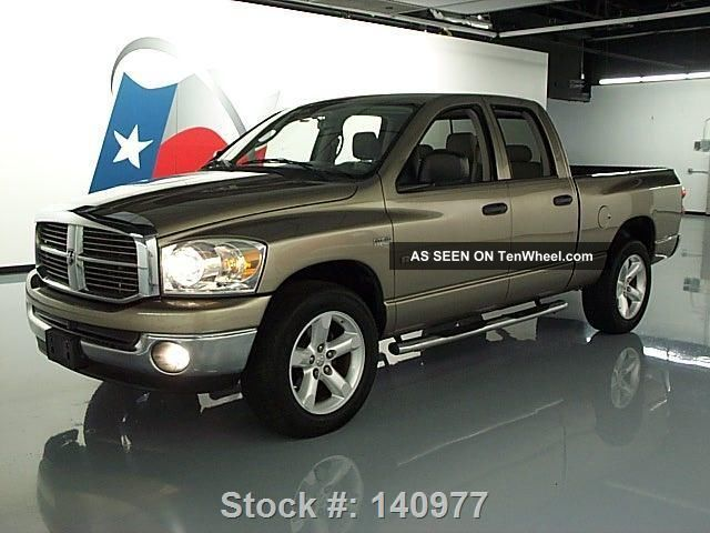2008 dodge ram lone star quad hemi side steps 20 39 s 59k. Black Bedroom Furniture Sets. Home Design Ideas