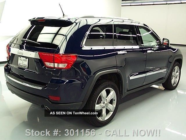 2012 jeep grand cherokee overland hemi pano 17k texas direct auto. Black Bedroom Furniture Sets. Home Design Ideas