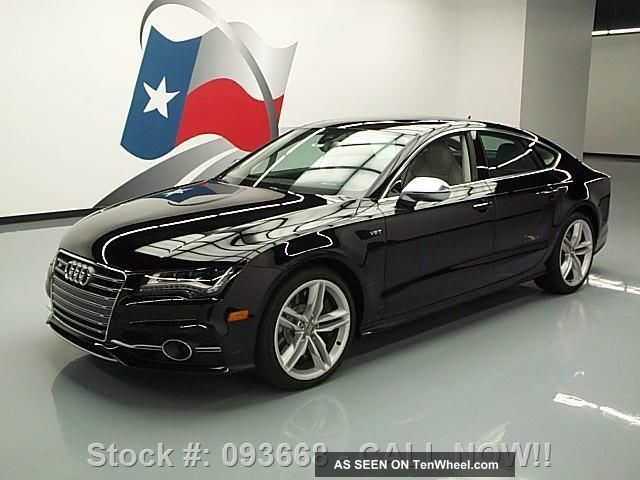 2013 Audi S7 Quattro Prestige Awd Bi - Turbo Texas Direct Auto Other photo