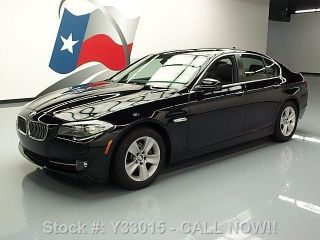 2013 Bmw 528i Sedan Turbo 31k Texas Direct Auto photo
