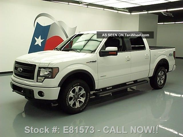 2013 Ford F - 150 Fx4 Supercrew Ecoboost 4x4 21k Texas Direct Auto F-150 photo