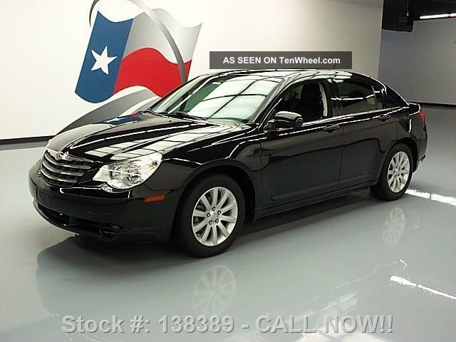 2010 Chrysler Sebring Ltd Htd Alloy Wheels 52k Texas Direct Auto Sebring photo