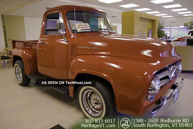 1955 Ford F - 100 Pickup Base 3.  9l - F-100 photo