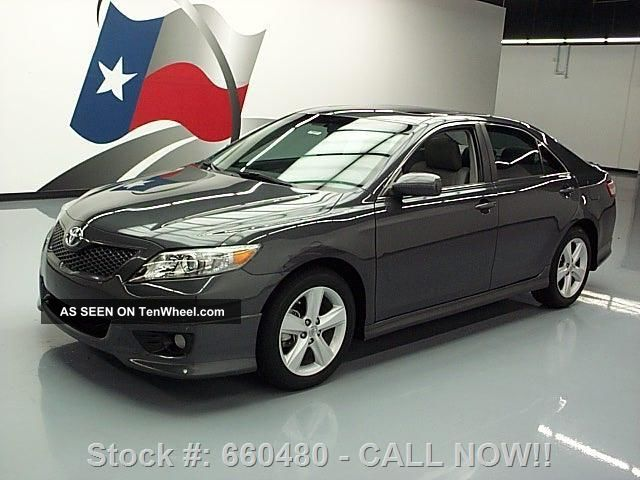 2011 Toyota Camry Se Auto Ground Effects 33k Mi Texas Direct Auto Camry photo