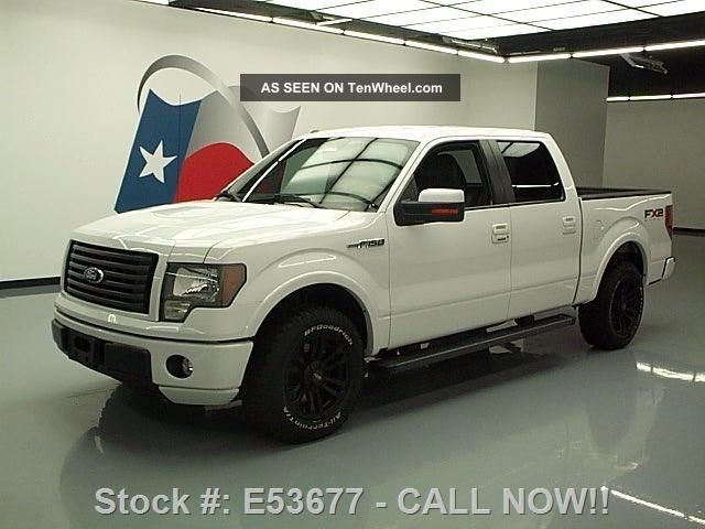 2010 Ford F - 150 Fx2 Sport Crew Side Steps 56k Texas Direct Auto F-150 photo