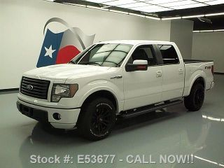 2010 Ford F - 150 Fx2 Sport Crew Side Steps 56k Texas Direct Auto photo