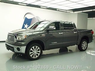 2011 Toyota Tundra Platinum Crewmax 4x4 21k Texas Direct Auto photo