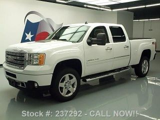 2012 Gmc Sierra 2500 Denali Hd Crew Z71 4x4 Dvd 17k Texas Direct Auto photo