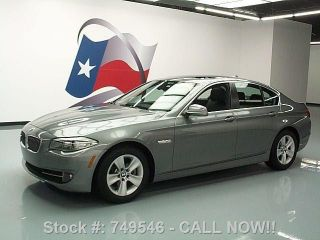 2011 Bmw 528i Sedan Automatic Alloy Wheels 36k Texas Direct Auto photo