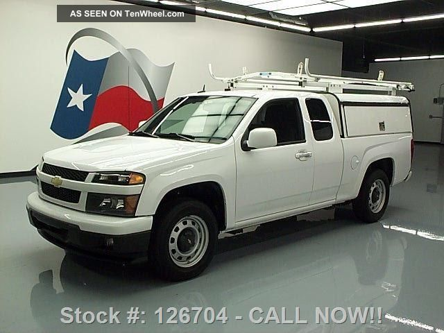 2012 Chevy Colorado Ext Cab Utility Shell Automatic 68k Texas Direct Auto Colorado photo