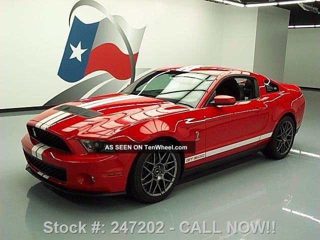 2012 Ford Mustang Shelby Gt500 Svt Performance 6k Texas Direct Auto Mustang photo