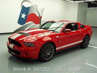 2012 Ford Mustang Shelby Gt500 Svt Performance 6k Texas Direct Auto photo