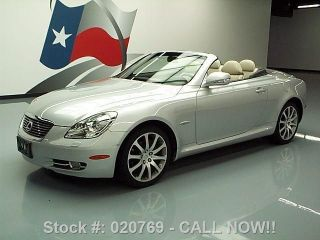 2009 Lexus Sc430 Hard Top Convertible Pebble Beach Texas Direct Auto photo
