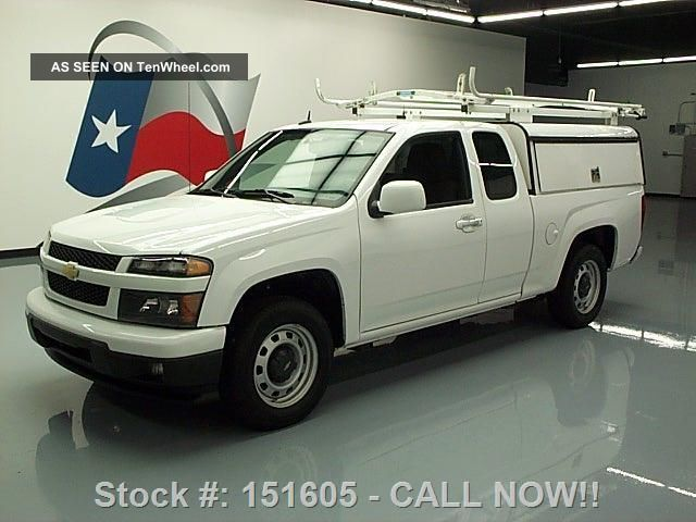 2012 Chevy Colorado Extended Cab Utility Shell Only 56k Texas Direct Auto Colorado photo