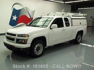 2012 Chevy Colorado Extended Cab Utility Shell Only 56k Texas Direct Auto photo
