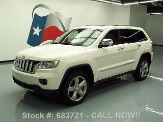 2011 Jeep Grand Cherokee Overland 4x4 Hemi Pano Texas Direct Auto photo