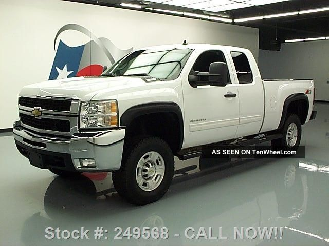 2010 Chevy Silverado 2500 Lt Ext Cab Z71 4x4 Lifted 52k Texas Direct Auto Silverado 2500 photo