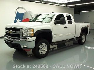 2010 Chevy Silverado 2500 Lt Ext Cab Z71 4x4 Lifted 52k Texas Direct Auto photo