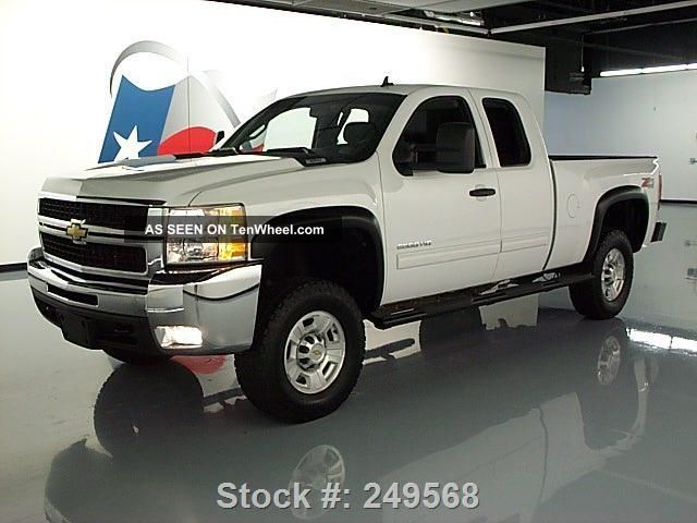 2010 chevy silverado 2500 lt ext cab z71 4x4 lifted 52k texas direct auto. Black Bedroom Furniture Sets. Home Design Ideas