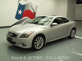 2012 Infiniti G37x Coupe Awd Premium 19k Mi Texas Direct Auto photo