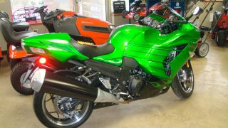 2012 Kawasaki Ninja Zx14r Green photo