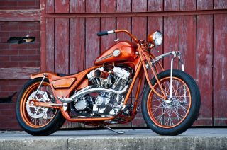 1994 Harley Davidson,  Fxr,  Bobber,  Chopper,  Custom Motorcycle,  Gangster Choppers photo