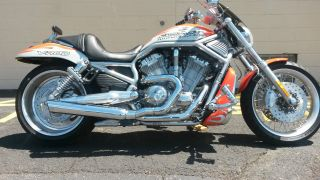 2007 Harley Davidson Screamin ' Eagle V - Rod Vrscx 586 Of 1,  400 Vance & Hines photo