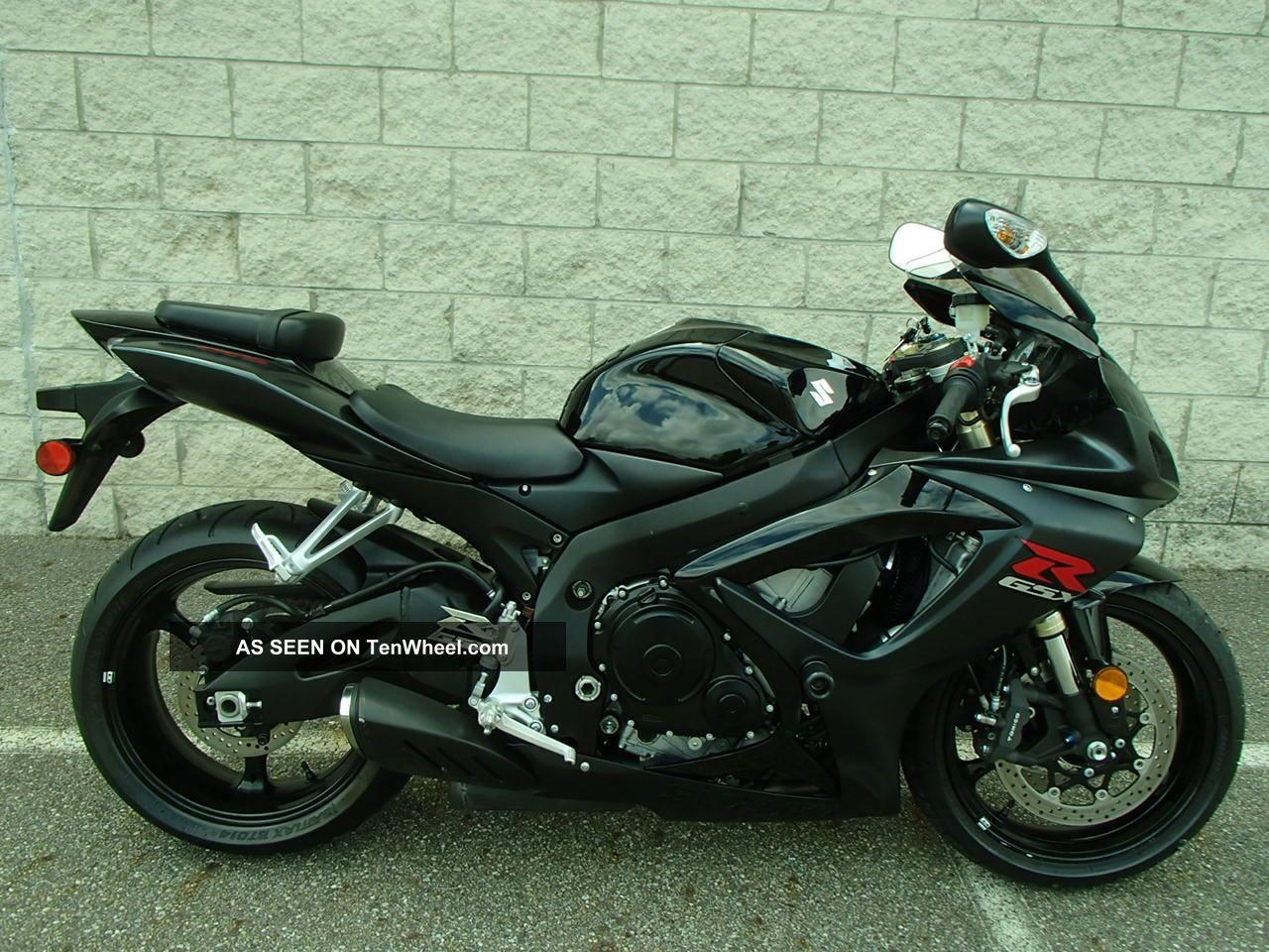 2007 Suzuki Gsx - R600 Sport Bike Um20212 Jb GSX-R photo