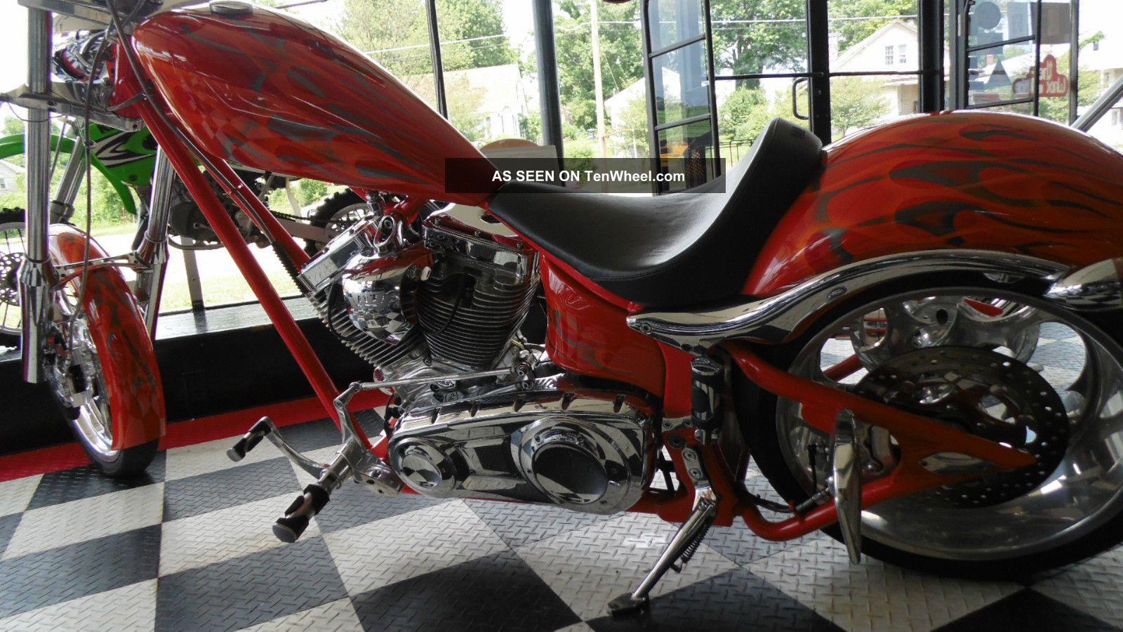 2008 Big Dog K9 Chopper Wire Plus Excellent Bike 6 Speed