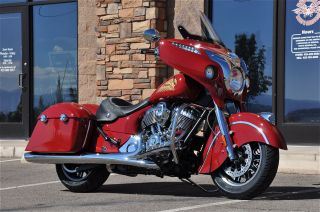 2014 Indian Chieftain Numbered Bike 728 Of 1901 - Indian Motorcycle Red - photo