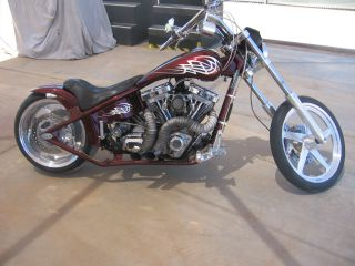 2002 American Ironhorse Tejas Custom Pro Street Chopper photo
