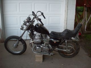 1971 71 Honda Cb750 Cb 750 Old School Chopper Vintage Rat Bike. photo