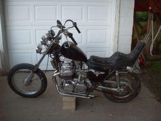 1971 71 Honda Cb750 Cb 750 Old School Chopper Vintage Rat Bike. photo