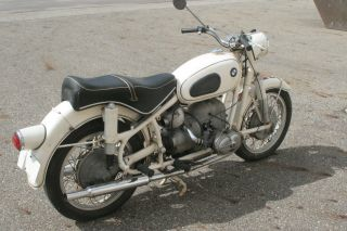 1961 Bmw R50s Dover White photo