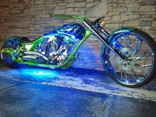 2010 Spenser Bowman Rock Bottom Pro Street Chopper 26 ' Wheel Nasty Bad Azz photo