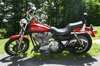 1990 Harley Davidson Fxr Superglide (candy) photo