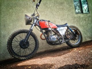 1976 Honda Xl250 Rat Bobber Custom Apocalypse Vintage Cruiser photo