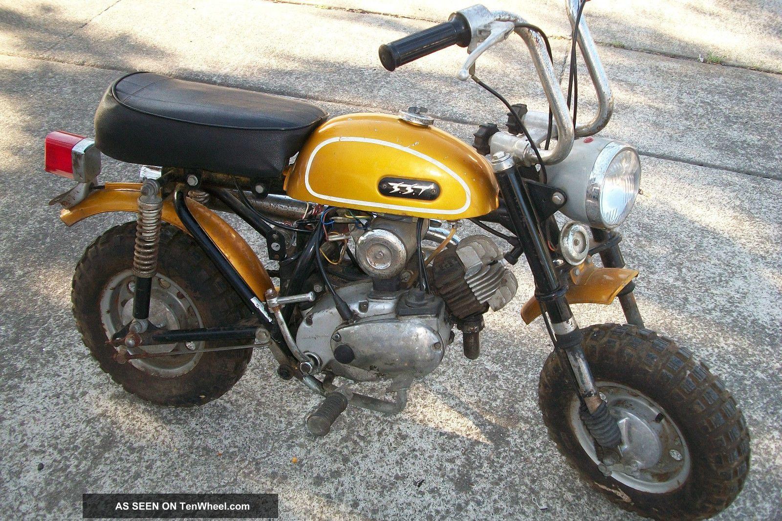 Gemini Mini Bike 50cc Sst Vintage 1970 Rare Vg Other Makes photo
