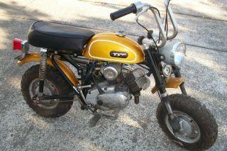 Gemini Mini Bike 50cc Sst Vintage 1970 Rare Vg photo