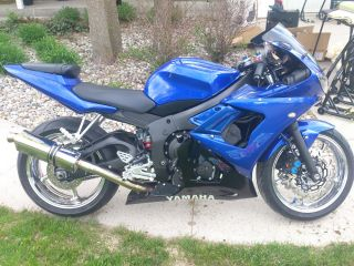 Yamaha R6s 2008 Lots Of Upgrades,  Chrome Rims And Much More photo