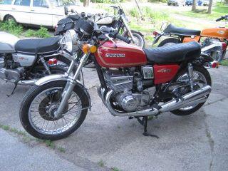1976 Suzuki Gt 550 photo