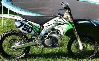 2006 Kx 250 Aluminum Frame Kx250 photo