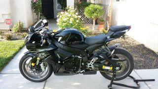 2011 Black Gsxr - 750, photo