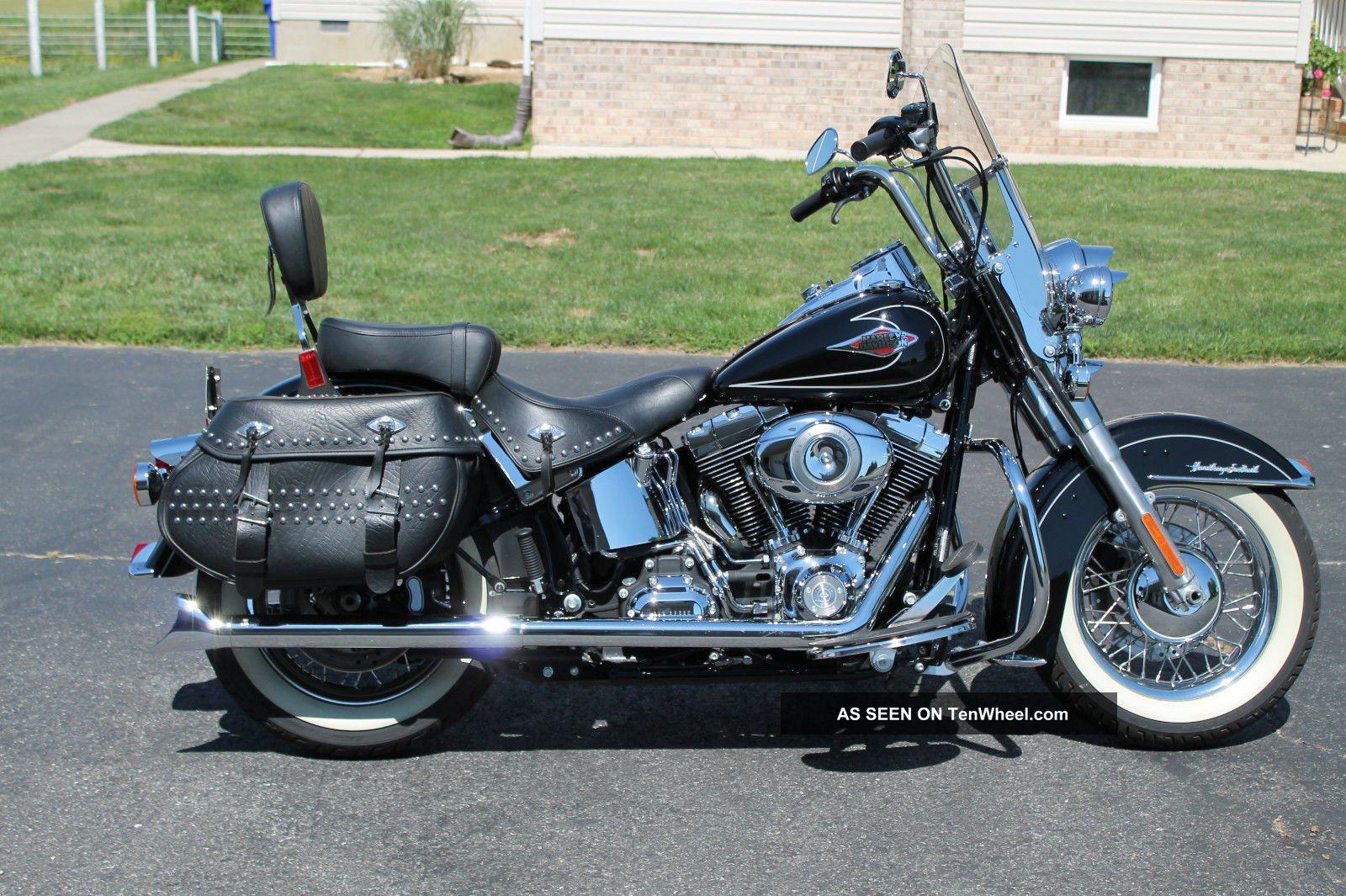 Harley Davidson Heritage Softail Classic Specs