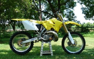 2005 Suzuki Rm 250 Dirt Bike. . .  All Rebuilt photo