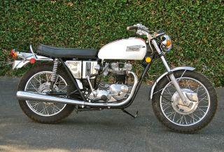1971 Triumph Bonneville 5 - Speed,  1 Of 200 Built, ,  Excellent Rider photo