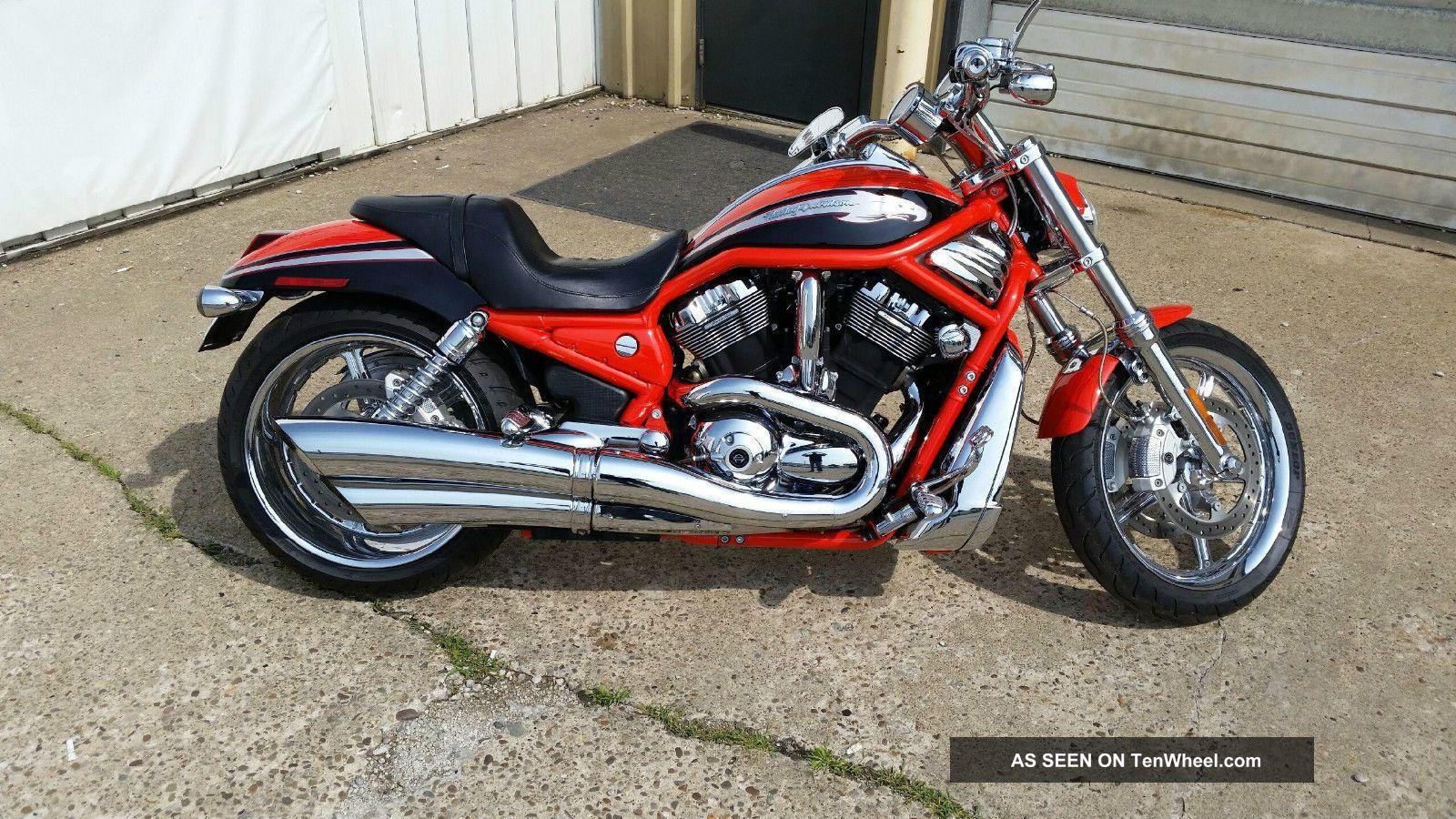 2006 Harley Davidson Orange Screaming Eagle V Rod Extremely