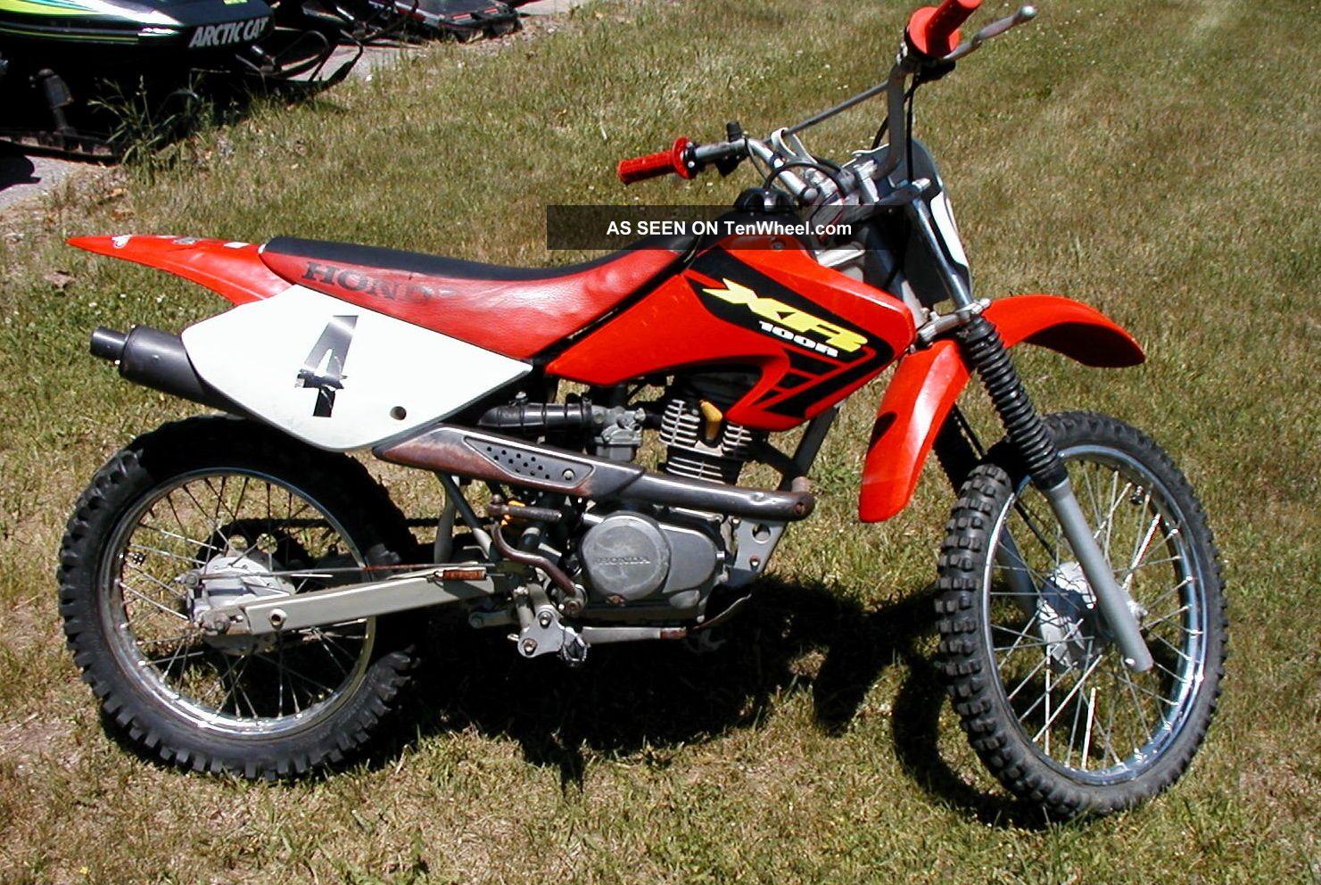 2002 Honda Xr100r Dirt Bike